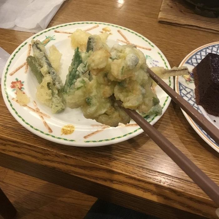ホロホロ山荘に宿泊3 夕食バイキング編