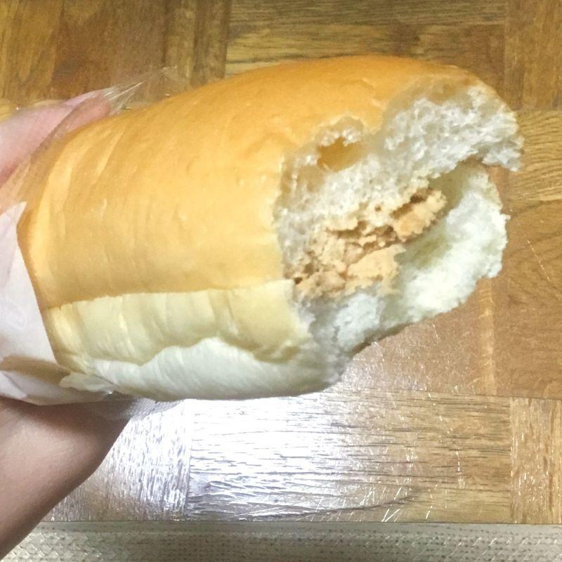 香ばしピーナッツクリームのパン