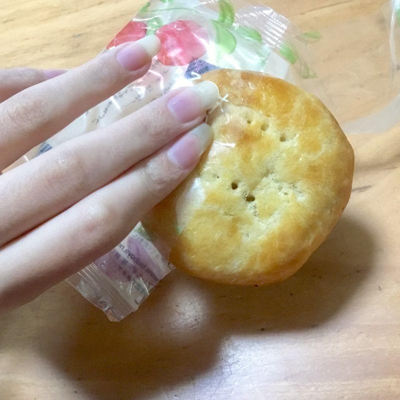 サツマイモの甘さとりんごパイ
