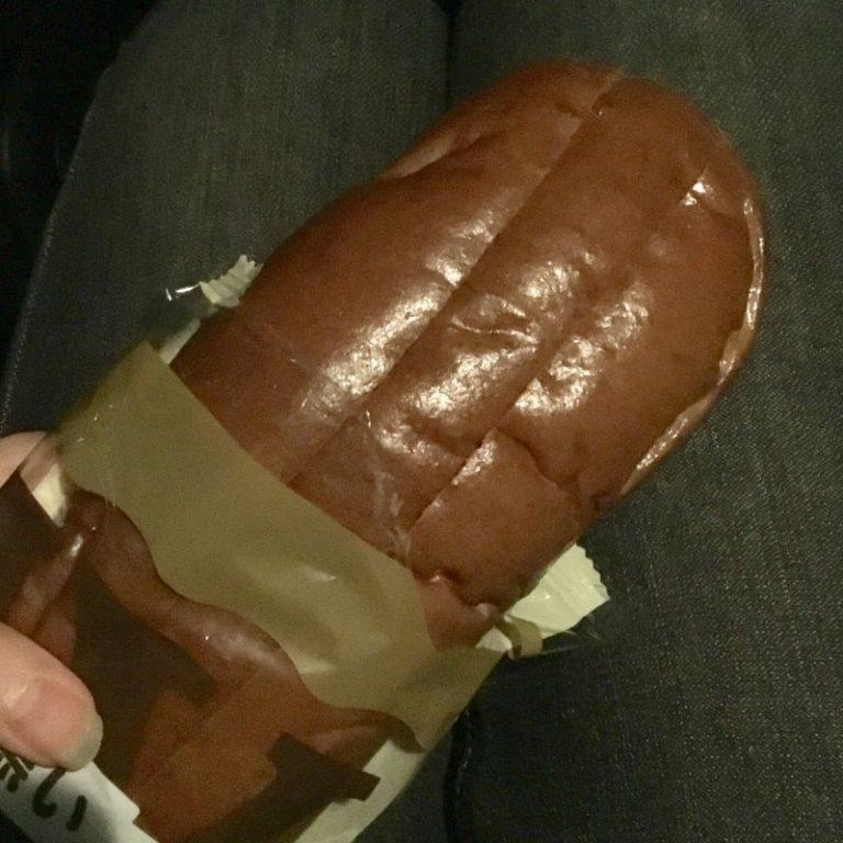 でっかい!黒糖パンとマロンみるくクリーム