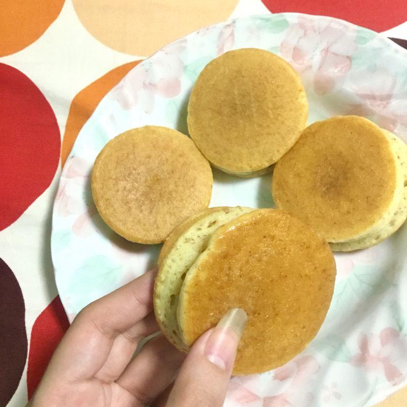 メープルシロップ入りのまとめ買いパンケーキ