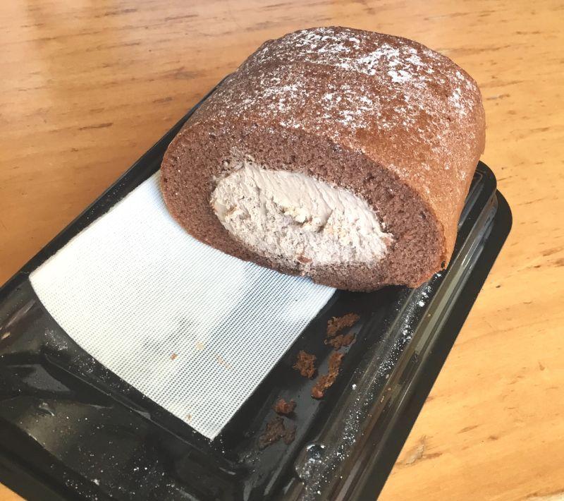 塩あっさり!濃厚生チョコロール
